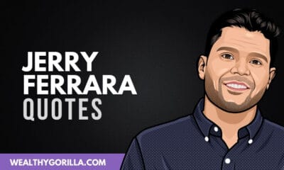 40 Jerry Ferrara Quotes About Life, Acting & Hard Work