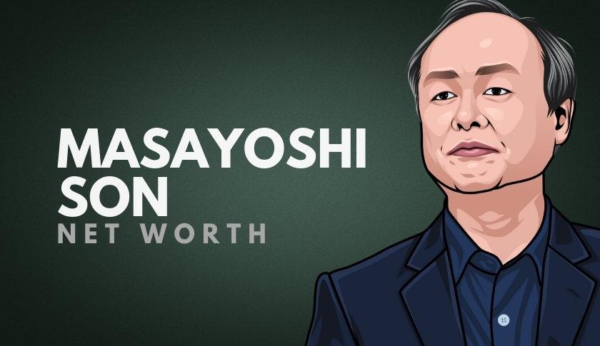 Masayoshi Son Net Worth