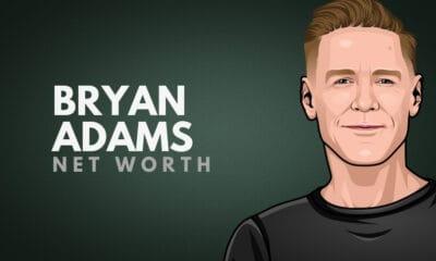 Bryan Adams' Net Worth