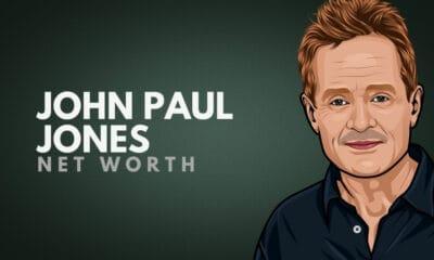 John Paul Jones' Net Worth