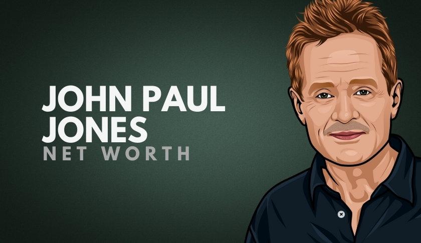John Paul Jones Net Worth