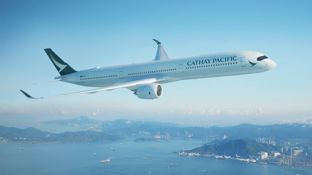 Most Expensive Airlines - Cathay Pacific