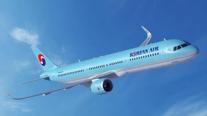 Most Expensive Airlines - Korean Air