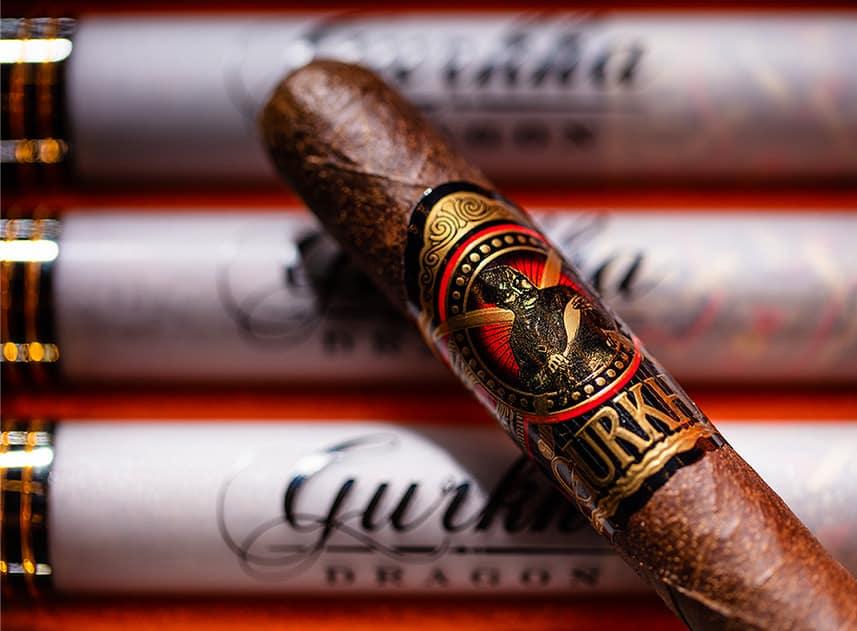 Most Expensive Cigars - Gurkha Black Dragon Cigars - $1,150:Cigar