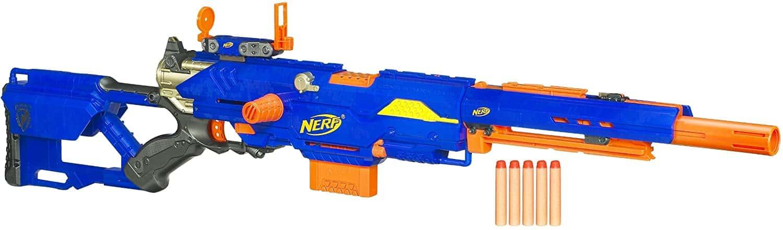 Most Expensive Nerf Guns - Nerf N-Strike Longstrike CS-6 Dart Blaster - $110