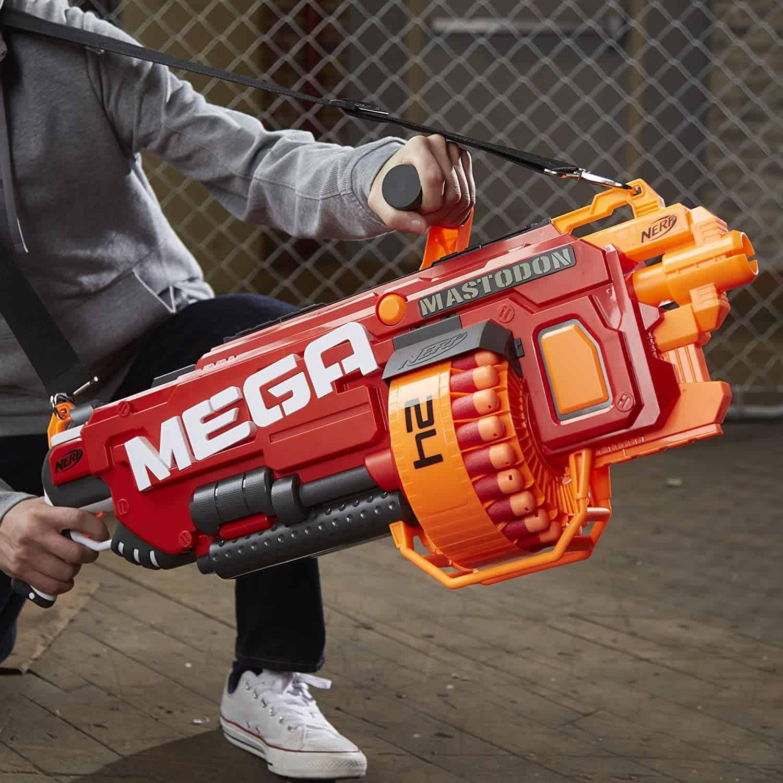 Most Expensive Nerf Guns - Nerf N-Strike MEGA Mastodon Blaster - $150
