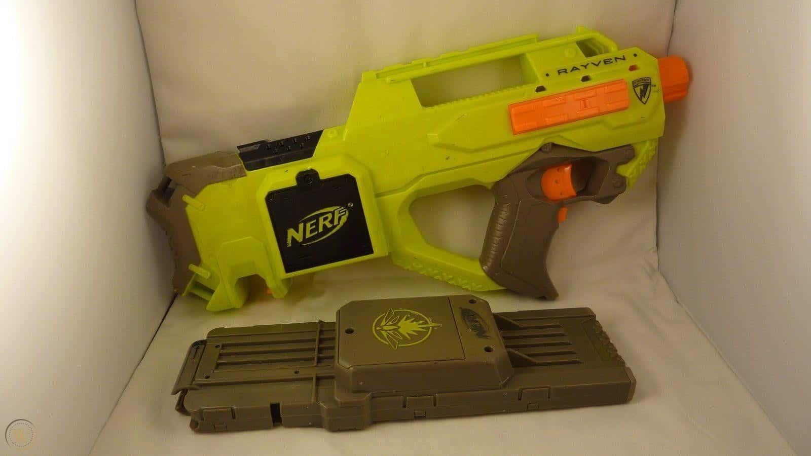 Most Expensive Nerf Guns - Nerf Rayven CS-18 (Light It Up Series) - $200