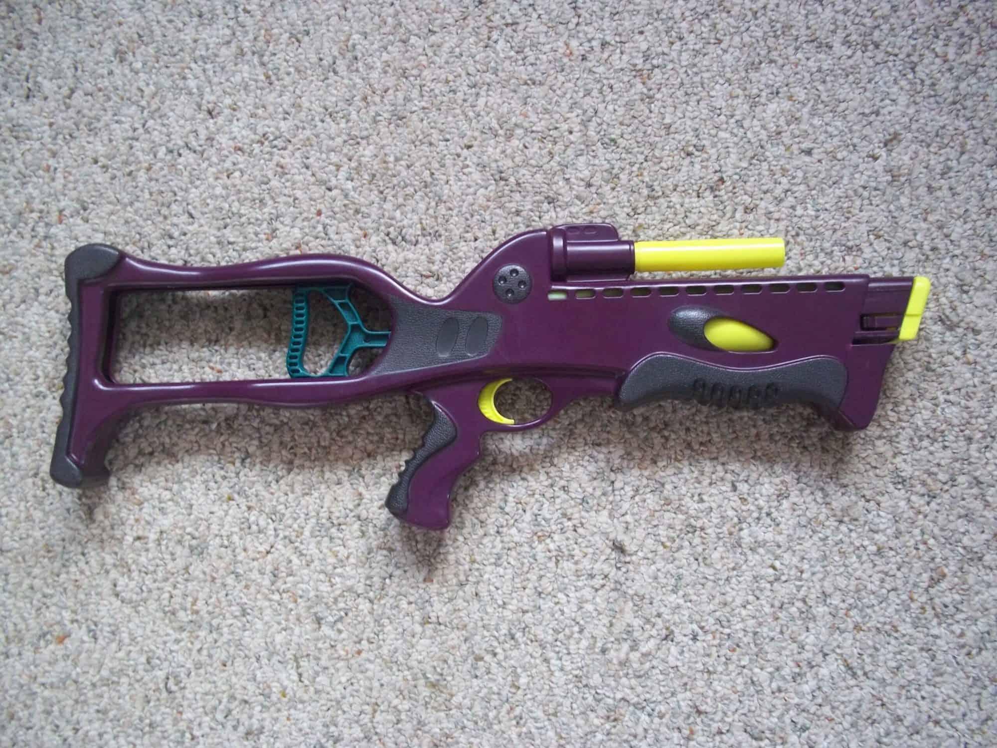 Most Expensive Nerf Guns - Original Nerf Crossbow (Purple Version) - $200