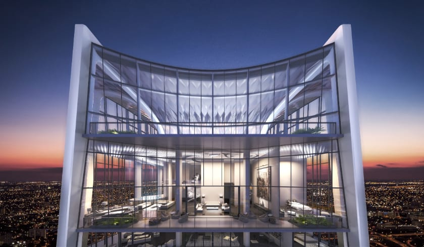 Most Expensive Penthouses - One Thousand Museum, Miami - $49 Million