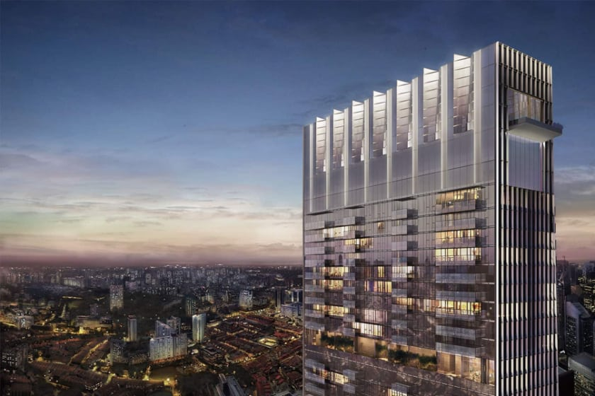 Most Expensive Penthouses - Wallich Residence, Singapore - $79.65 Million