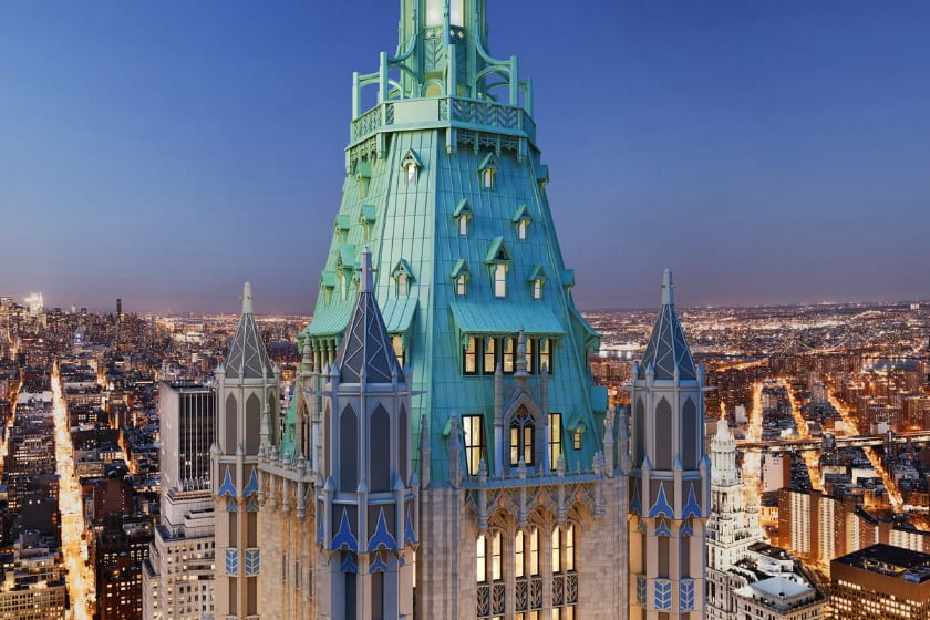 Most Expensive Penthouses - Woolworth Tower Residence, New York - $110 Million