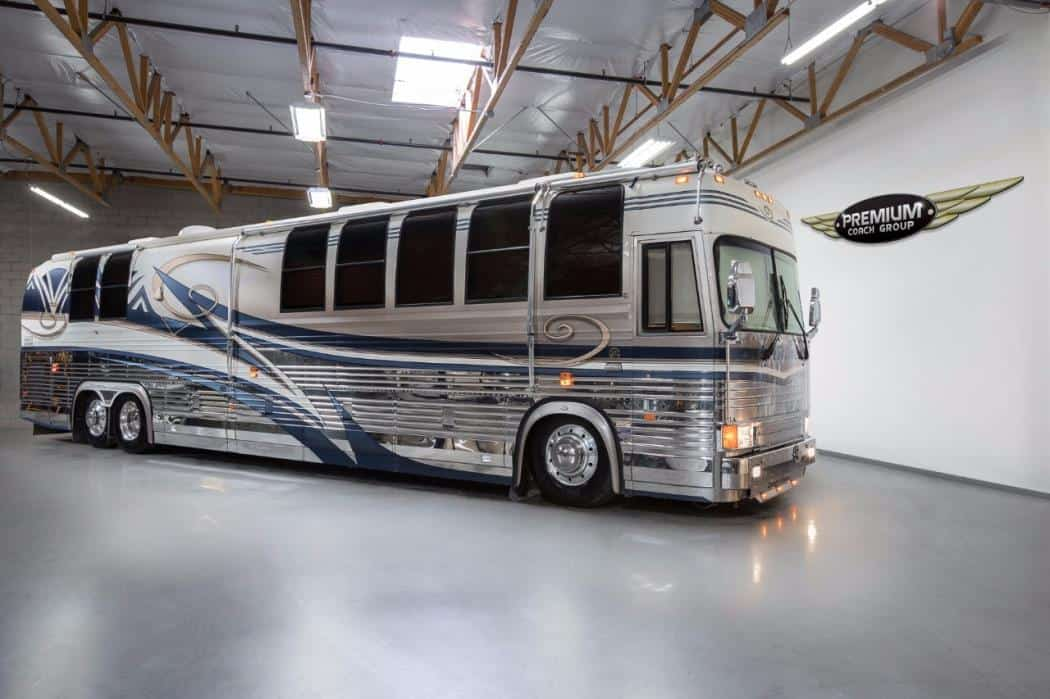 Most Expensive RVs - Country Coach Prevost - $1 million