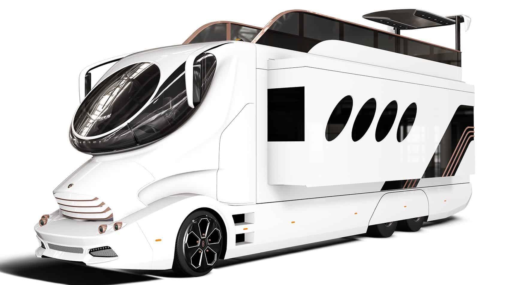 Most Expensive RVs - Marchi Mobile EleMMent Palazzo - $3 million