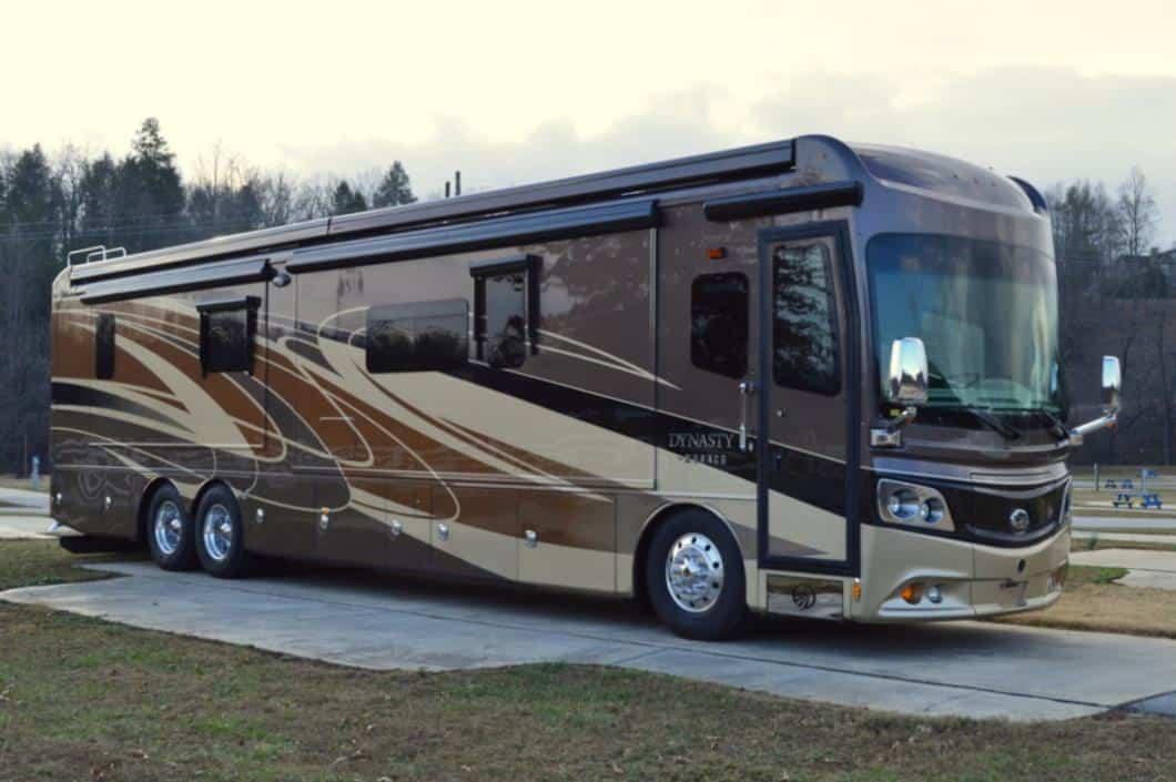 Most Expensive RVs - Monaco Dynasty 45P - $585,750