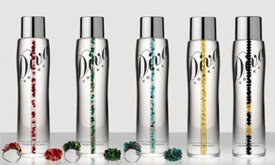 Most Expensive Vodkas - DIVA Premium Vodka - $1 Million