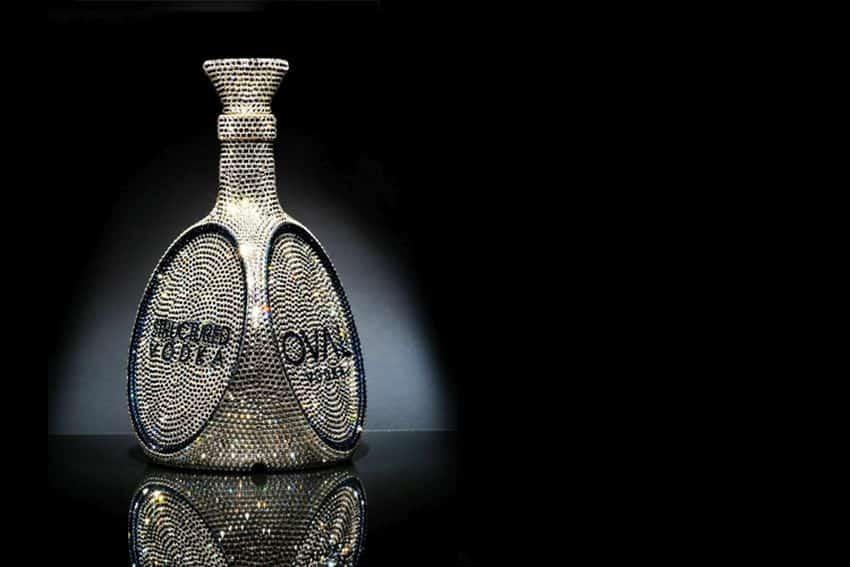 Most Expensive Vodkas - OVAL Swarovski Crystal Vodka - $6,922