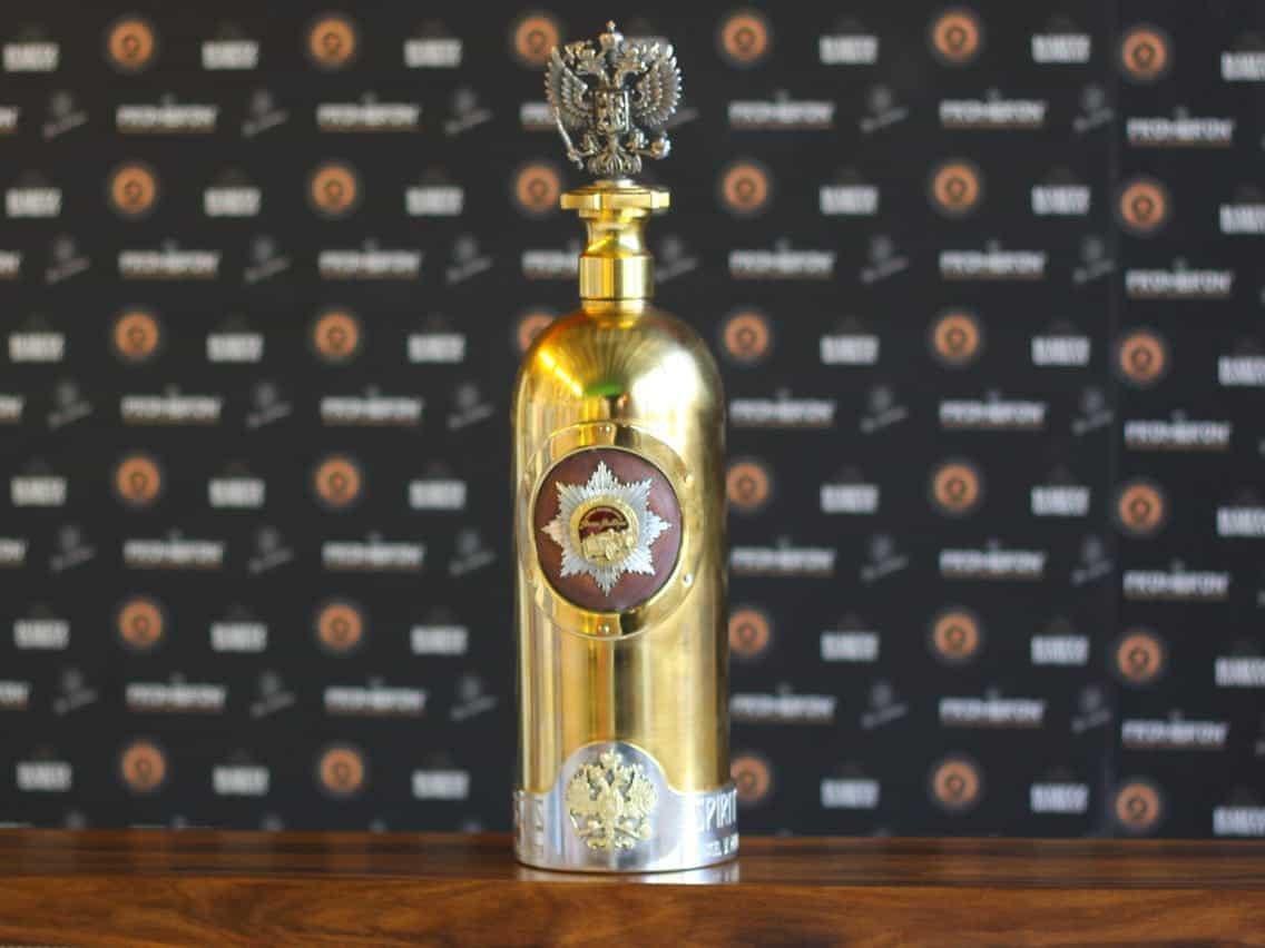 Most Expensive Vodkas - The New Russo-Baltique Vodka - $1.3 Million
