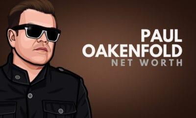 Paul Oakenfold's Net Worth