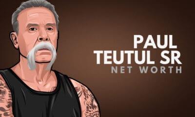 Paul Teutul Sr's Net Worth