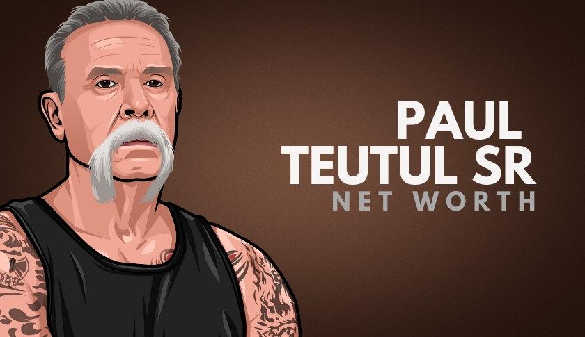 Paul Teutul Sr Net Worth