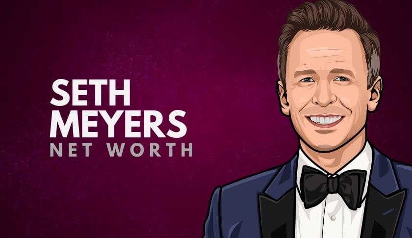 Seth Meyers Net Worth