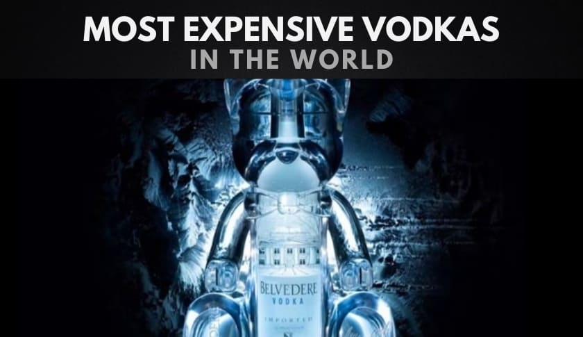 The 10 Most Expensive Vodkas in the World