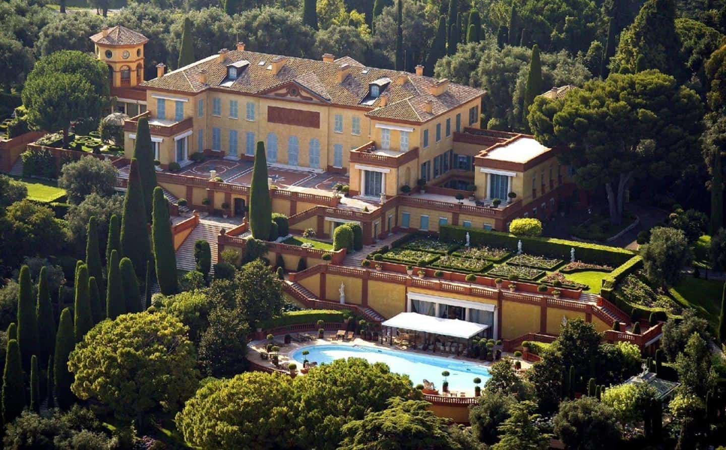 Biggest Houses in the World - Villa Leopolda, French Riviera, France
