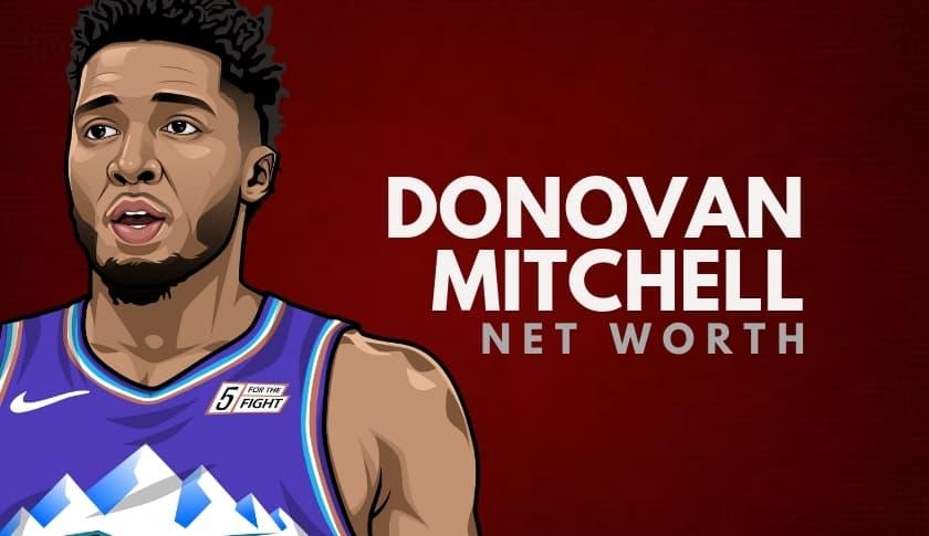 Donovan Mitchell Net Worth
