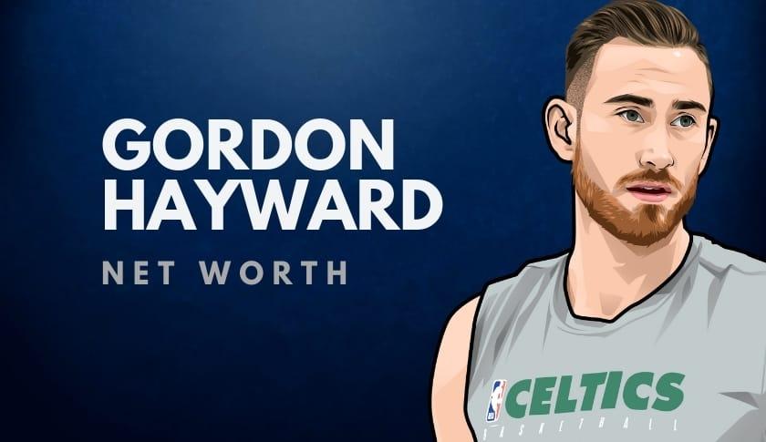 Gordon Hayward Net Worth