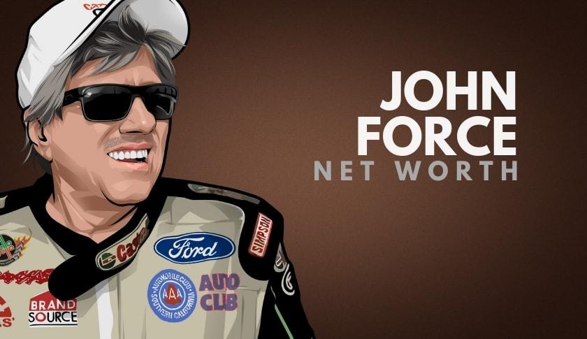 John Force Net Worth