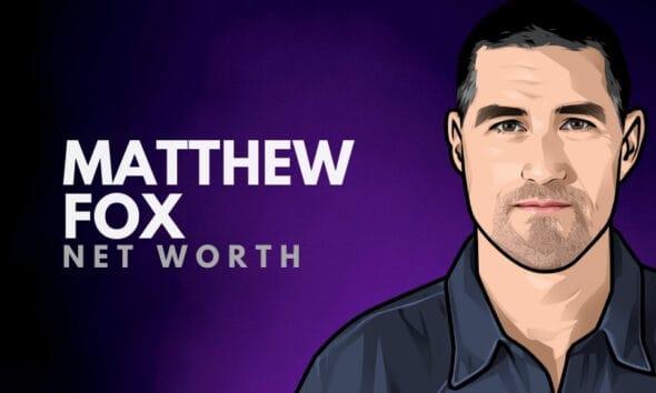 Matthew Fox Net Worth