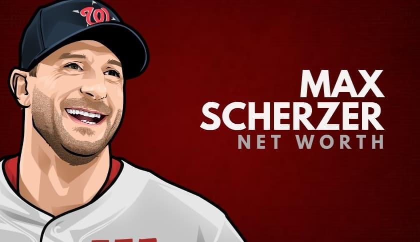 Max Scherzer Net Worth