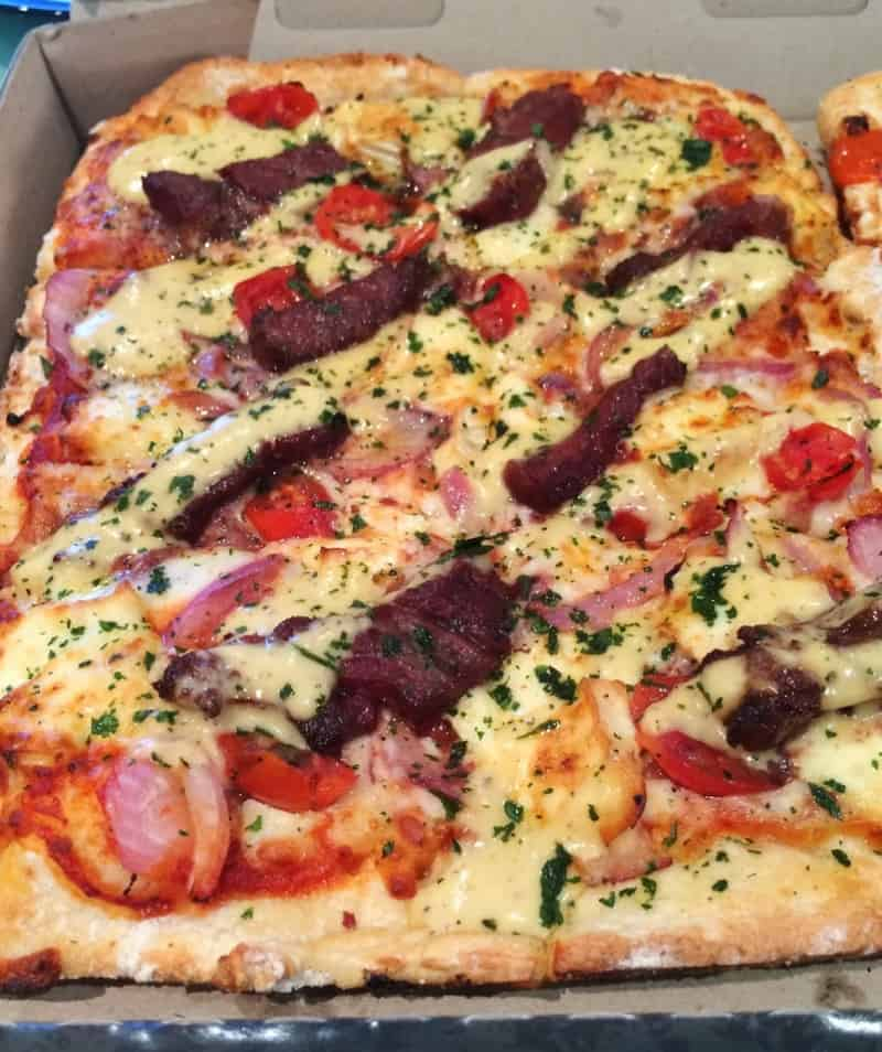 Most Expensive Pizzas - Kobe Beef Steak Pizza